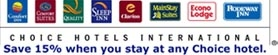 Choice Hotels International, Inc. is an American hospitality holding corporation based in Rockville, Maryland, in the United States. The company owns the hotel and motel brands Comfort Inn, Comfort Suites, Quality Inn, Sleep Inn, Clarion, Cambria Hotel & Suites.
